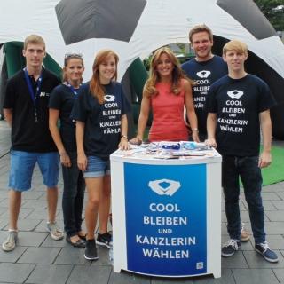 """Junge Union: """"Cool bleiben und Kanzlerin wählen"""""""