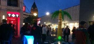 Karibik-Nacht: Junge Union bietet Cocktails unter Palmen