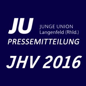 Jahreshauptversammlung der Jungen Union Langenfeld