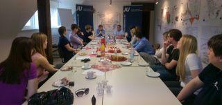 Diskussion über die Zukunft Europas in der Jungen Union