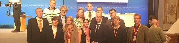 Zukunftskonferenz der CDU in Wuppertal – JU Kreis Mettmann aktiv dabei