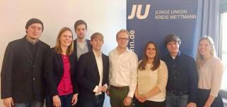 Junge Union Kreis Mettmann wählt neuen Vorstand – Kreisverbandsvorstand setzt sich aus neuen und altbewährten Mitgliedern zusammen!